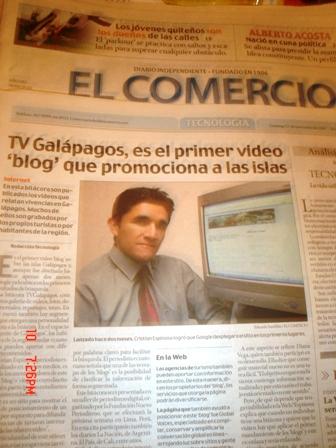 Galapagos blog de viajes