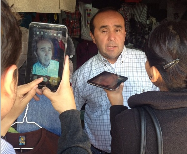 periodismo móvil y tablets