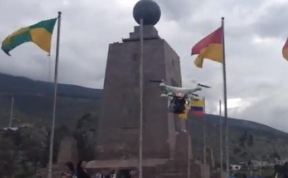 periodismo drone ecuador