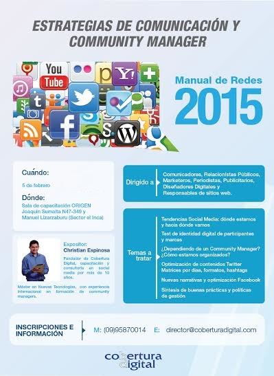 Curso Community Manager 2015